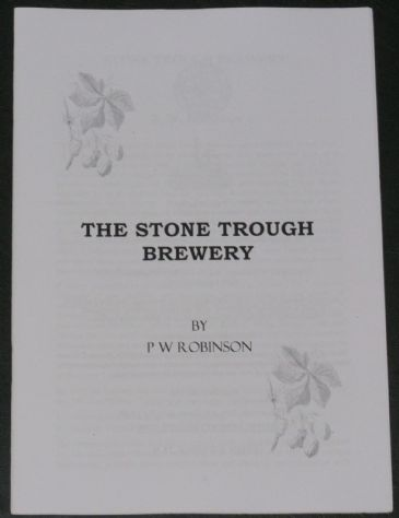 The Stone Trough Brewery, by P.W. Robinson